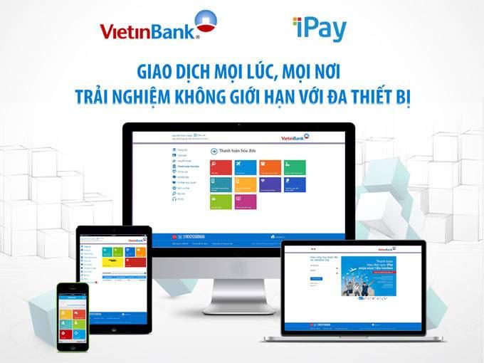 Các bước tất toán trên ViettinBank Ipay