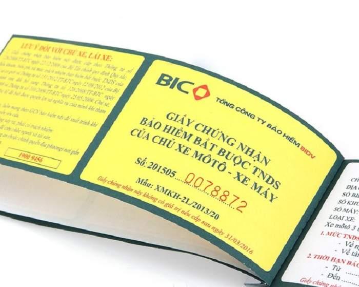 Thương hiệu bảo hiểm xe máy BIC