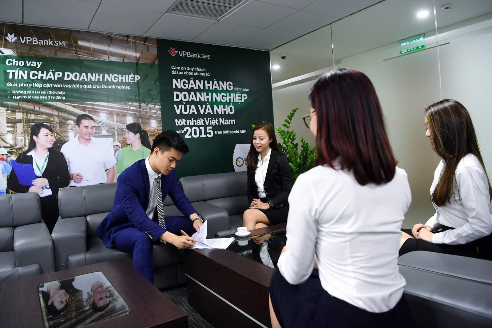 Vay tín chấp SME của VPBank