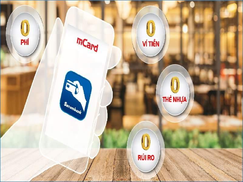 Ứng dụng mCard của Sacombank
