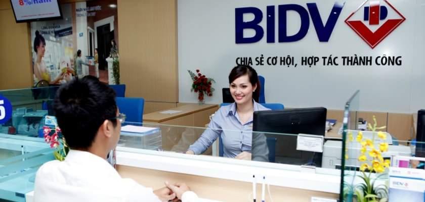 Vay tín chấp theo lương chuyển khoản tại BIDV