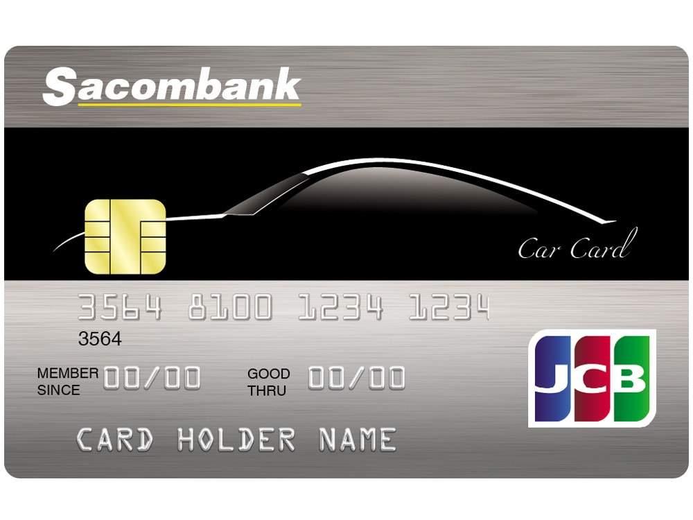 Thẻ JCB Sacombank