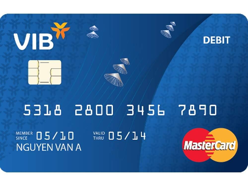 Thẻ ghi nợ MasterCard VIB