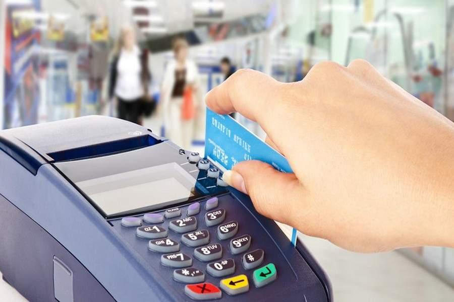 Hình 1: Máy POS hỗ trợ thanh toán bằng thẻ ATM