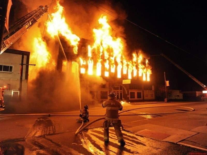 Hình 2. Cháy nổ có thể xảy đến bất cứ lúc nào