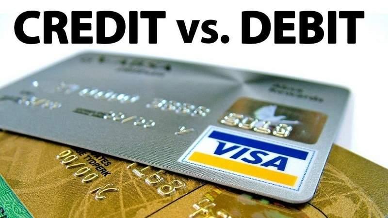 Phân biệt thẻ Debit và Credit