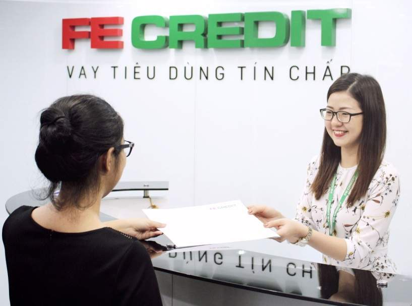 Dịch vụ vay tín chấp Fe Credit