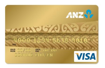 thẻ tín dụng anz