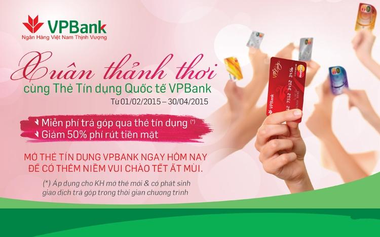 VPBank khuyến mãi