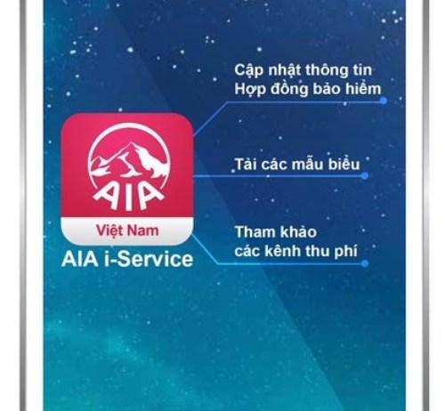 AIA Việt Nam vừa chính thức giới thiệu ứng dụng i-Service