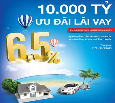 Lãi suất cho vay ưu đãi từ VietinBank
