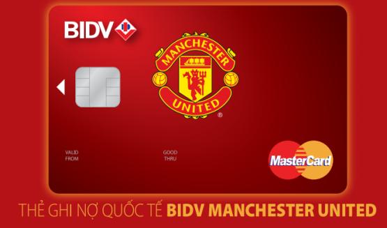 Thẻ BIDV-Manchester United