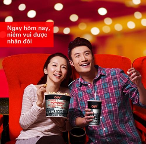 CGV Cinemas ưu đãi chủ thẻ tín dụng HSBC