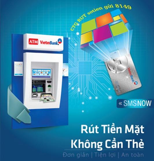 Rút tiền ATM không cần Thẻ