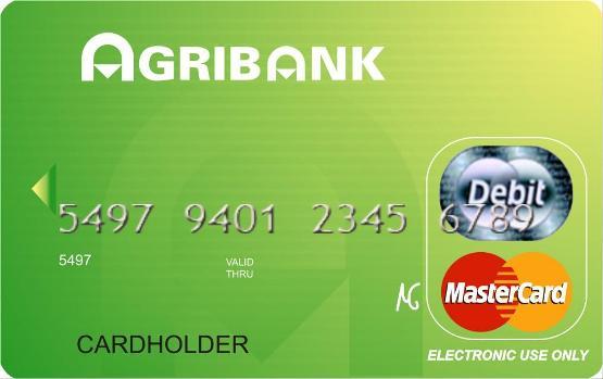 Làm thẻ tín dụng quốc tế Agribank