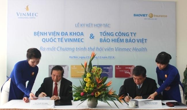 Lễ kí kết hợp tác giữa Bảo hiểm Bảo Việt và Vinmec