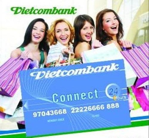 Vietcombank ưu đã mua săm